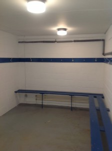 changing room interior